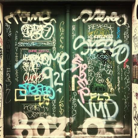 Door Graffiti Series #7/7