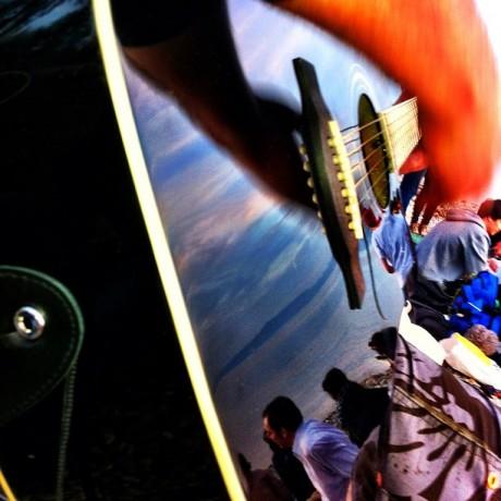 Guitar Mood at the Lake