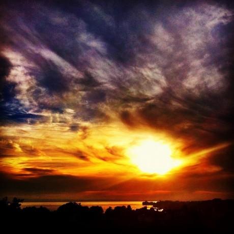 njoying Sunset Lakeview