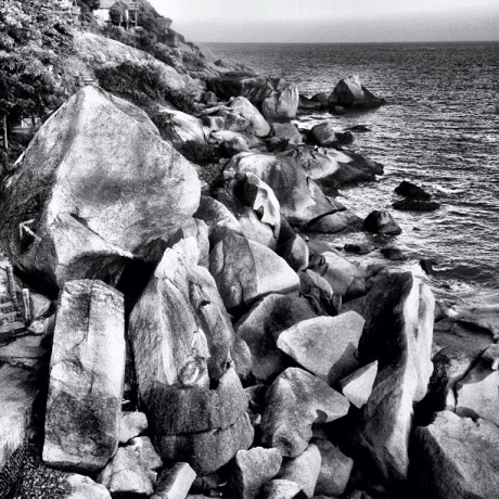 Rocks and the Sea