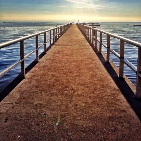 Path to horizon