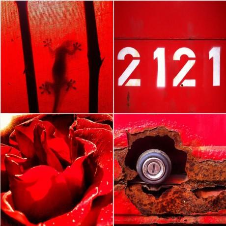 Red mood - 4er Set