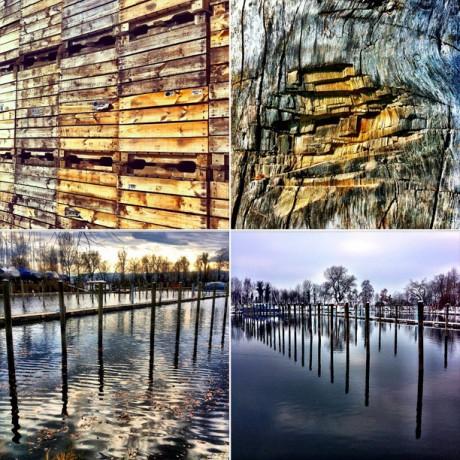 Wood View - 4er Set