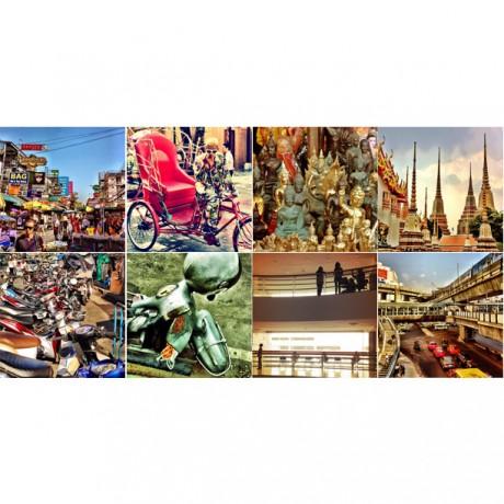 Bangkok 2013 - 8er Set