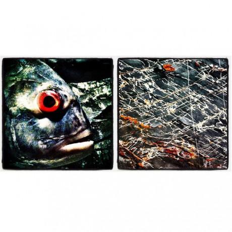 Fisch Linien - 2er Set