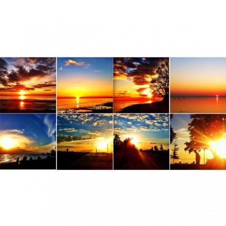 Sunset Series - 8er Set