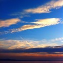 Calm stay with gorgeous sky