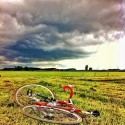Bike with Landscape