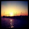 Sunset Lake Constance