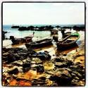 Fishing Boats - low tide