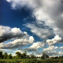Blue Sky Drive-by
