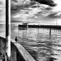 Lake view, shades of Grey