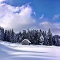 Landscape during Ski Tour