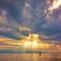 Breakthrough - golden sunlight