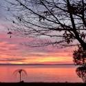 Sunset with three beauties
