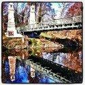 Bridge Reflection - Argen River
