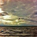 Cloudy wavin' Lake