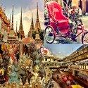 Bangkok 2013 - 4er Set