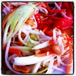 Papaya Salad - spicy