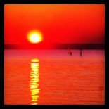 Sunsurfer on the Lake