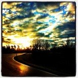 Road towards Sunset