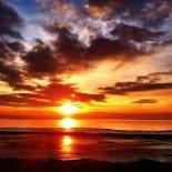 Three Suns Sunset