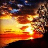 Sunset Malerecke