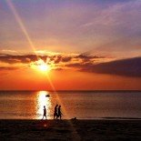 Sunset today on Koh Lanta