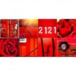 Rote Serie - 8er Set