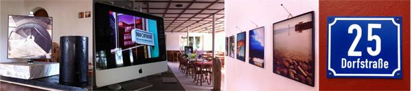 Ausstellung vCafe Eulenspiegel - August 2011