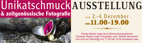 Vernissage im Schmuckateleier in Hagnau
